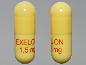 EXELON 1.5 MG CAPSULE