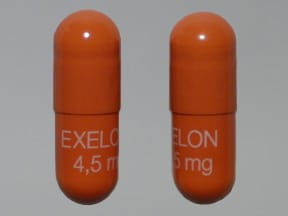 EXELON 4.5 MG CAPSULE