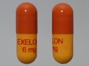 EXELON 6 MG CAPSULE