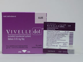VIVELLE-DOT 0.05 MG PATCH