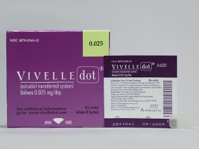 VIVELLE-DOT 0.025 MG PATCH