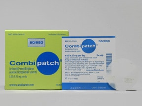 COMBIPATCH 0.05-0.25 MG PTCH