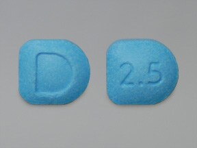 FOCALIN 2.5 MG TABLET