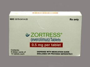 ZORTRESS 0.5 MG TABLET