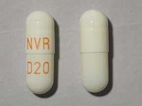 FOCALIN XR 20 MG CAPSULE
