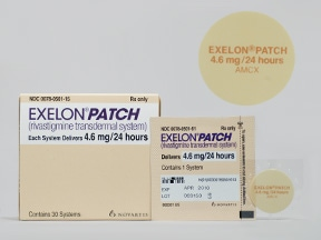 EXELON 4.6 MG/24HR PATCH