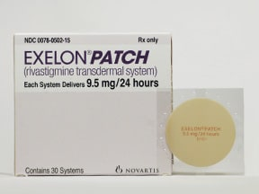 Exelon patch uses
