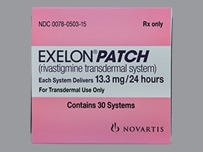 What does the exelon patch do