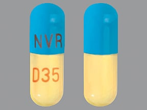 FOCALIN XR 35 MG CAPSULE