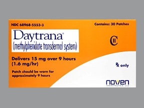 DAYTRANA 15 MG/9 HR PATCH