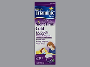 TRIAMINIC NIGHTTIME COLD-COUGH