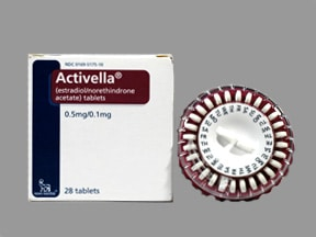 ACTIVELLA 0.5-0.1 MG TABLET