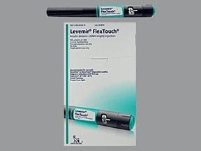 LEVEMIR FLEXTOUCH 100 UNITS/ML