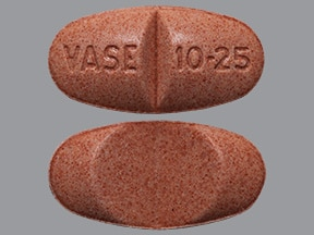 VASERETIC 10-25 MG TABLET