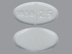 VASOTEC 2.5 MG TABLET