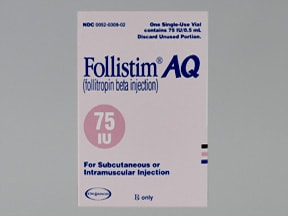 FOLLISTIM AQ 75 UNIT VIAL