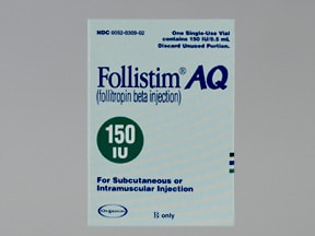 FOLLISTIM AQ 150 UNIT VIAL