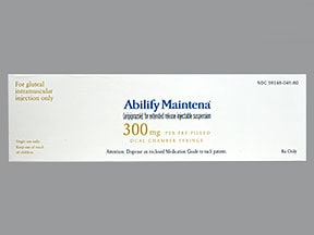 ABILIFY MAINTENA ER 300 MG SYR
