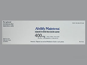 ABILIFY MAINTENA ER 400 MG SYR
