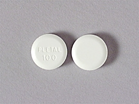 PLETAL 100 MG TABLET