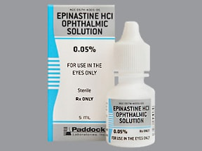 EPINASTINE HCL 0.05% EYE DROPS
