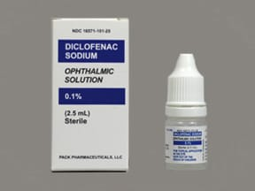 DICLOFENAC 0.1% EYE DROPS
