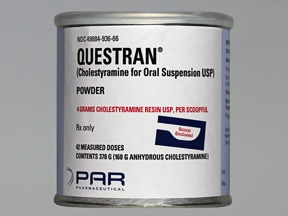 QUESTRAN POWDER