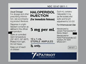 HALOPERIDOL 5 MG/ML AMPUL