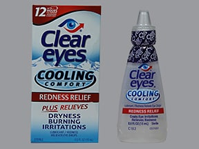 CLEAR EYES COOLING COMFORT DRP