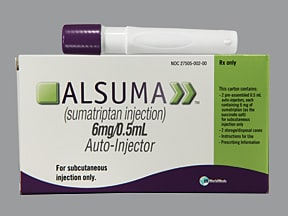ALSUMA 6 MG/0.5 ML AUTO-INJECT