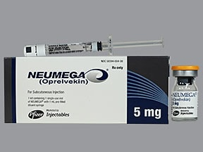 NEUMEGA 5 MG VIAL