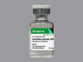 FAMOTIDINE 20 MG/2 ML VIAL