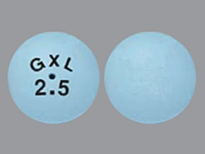 GLUCOTROL XL 2.5 MG TABLET