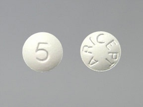 ARICEPT 5 MG TABLET