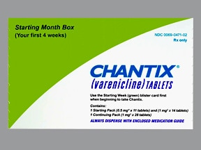 CHANTIX STARTING MONTH BOX