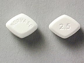 NORVASC 2.5 MG TABLET