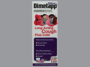 DIMETAPP LONG-ACTING COUGH LIQ
