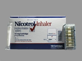 NICOTROL CARTRIDGE INHALER