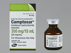 CAMPTOSAR 300 MG/15 ML VIAL