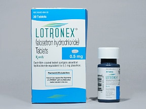 LOTRONEX 0.5 MG TABLET