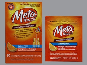 METAMUCIL FIBER SINGLES PACKET