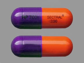 SECTRAL 200 MG CAPSULE