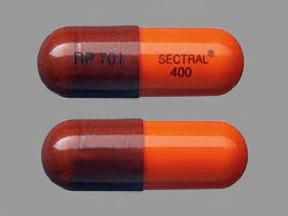 SECTRAL 400 MG CAPSULE