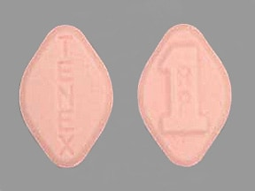 TENEX 1 MG TABLET