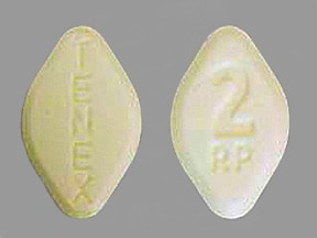 TENEX 2 MG TABLET