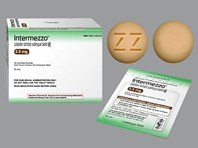 INTERMEZZO 3.5 MG TAB SUBLING