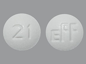 METHAZOLAMIDE 25 MG TABLET