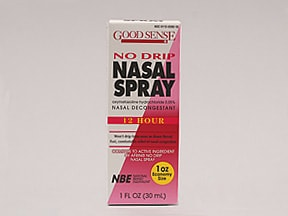 NO DRIP 0.05% NASAL SPRAY