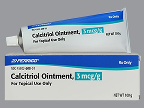 CALCITRIOL 3 MCG/G OINTMENT