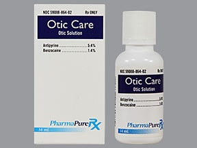 OTIC CARE OTIC SOLUTION